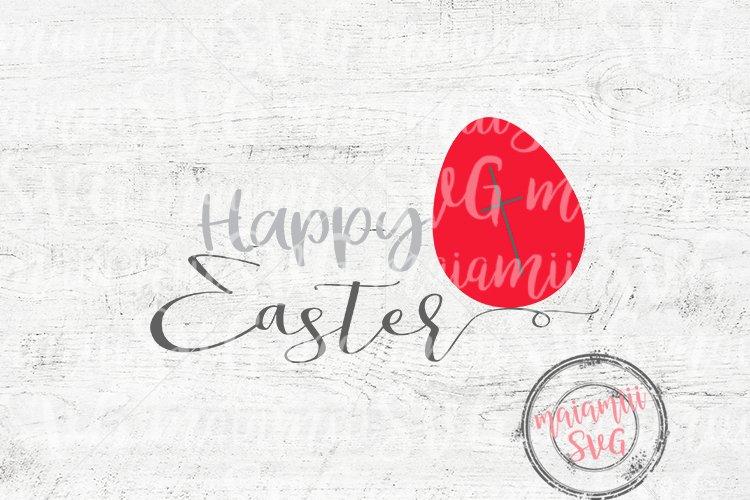 Happy Easter SVG, Easter Sign SVG, Easter Egg SVG