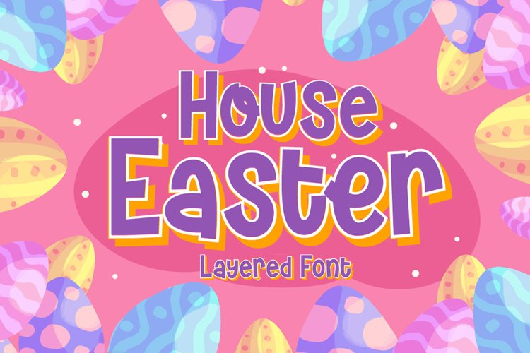 House Easter - Display Fonts Trio example image 1