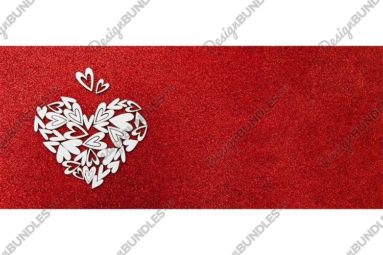 Valentines day banner background copy space example image 1