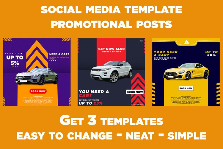 Social Media Promotion Template