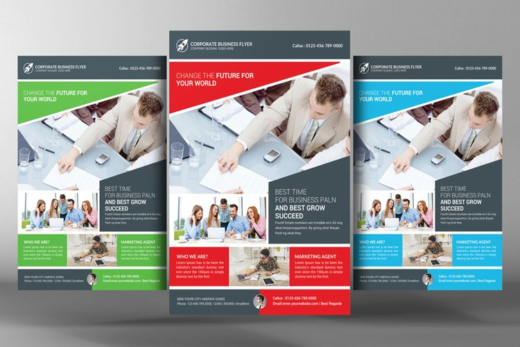 Business Work Flyer example image 1