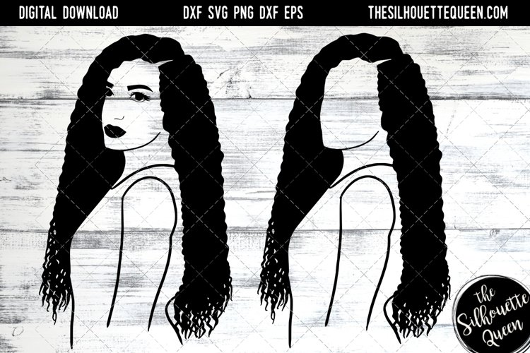 Afro Hair - Long Curl Hair example image 1