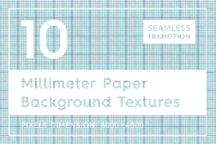 10 Millimeter Paper Textures example image 1