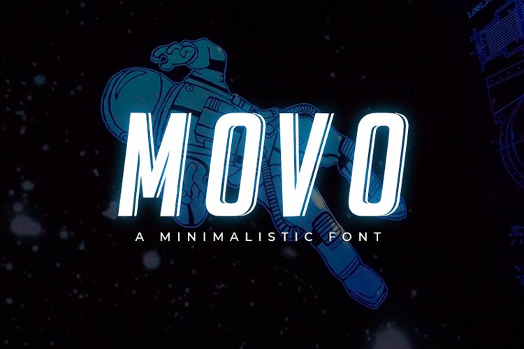 Movo - Modern Font example image 1