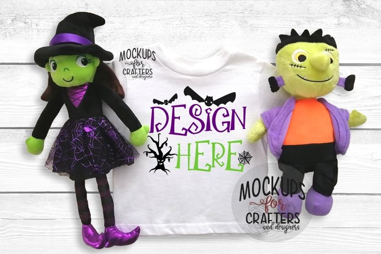 Halloween T-Shirt Mock-Up - Dollarama stuffie