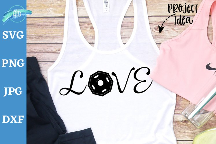 Love with free weigts svg, Workout tank, Workout shirt, gym example image 1