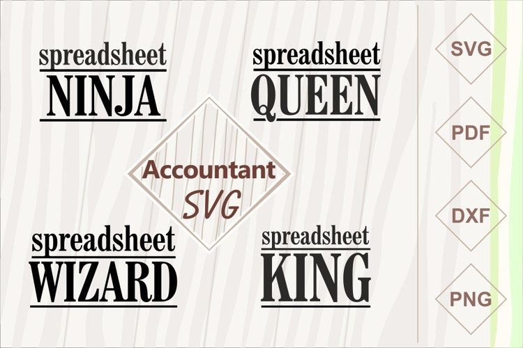Spreadsheet queen. Accountant, CPA, Bookkeeper example image 1