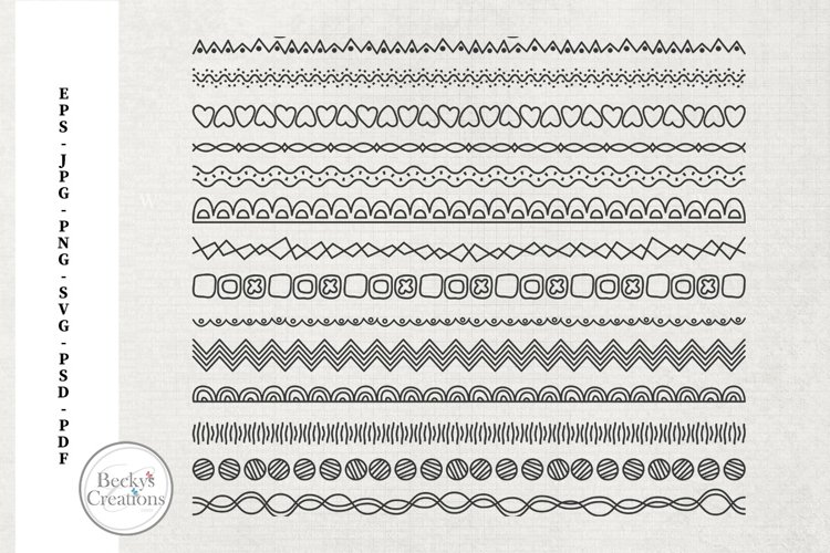 Line Doodles example image 1