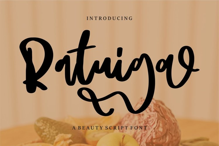 Ratuiga - A Beauty Script Font example image 1