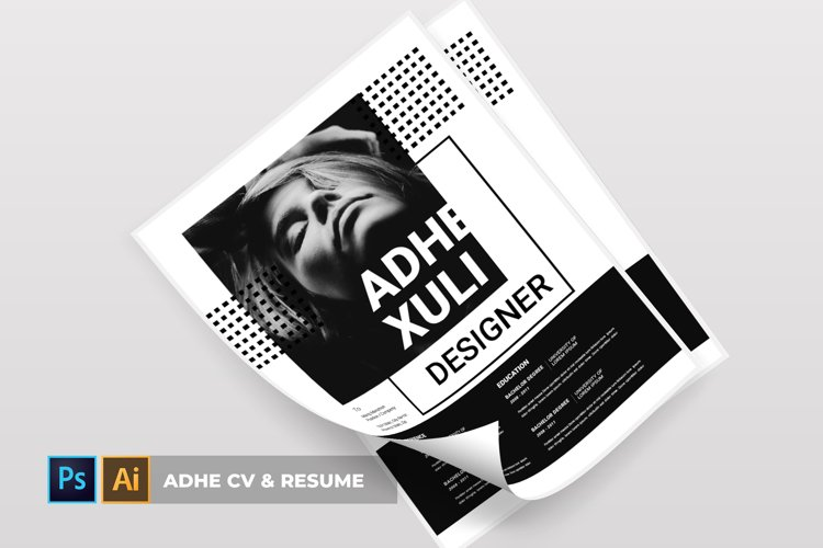 Adhe | CV & Resume example image 1