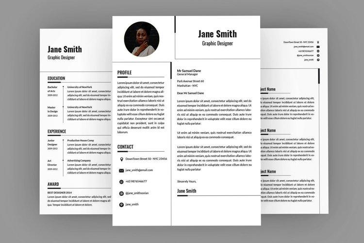 white CV Resume Designer example image 1