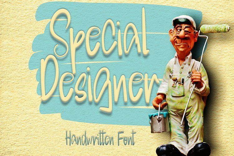 Special Designer | A Cute Handwritten Font example image 1