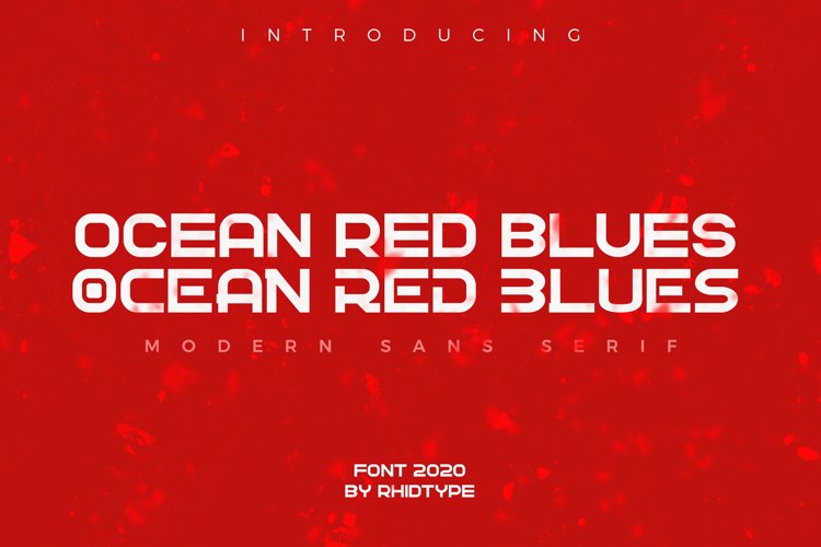 OCEAN RED BLUES example image 1