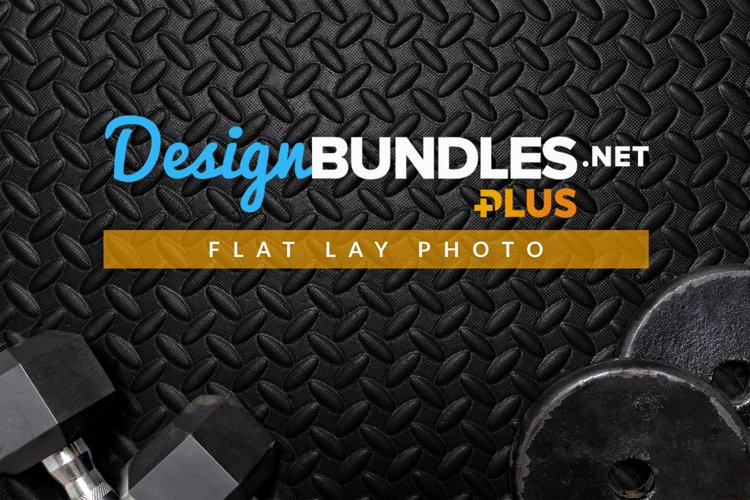 Workout Equipment | Flat Lay Photo example image 1