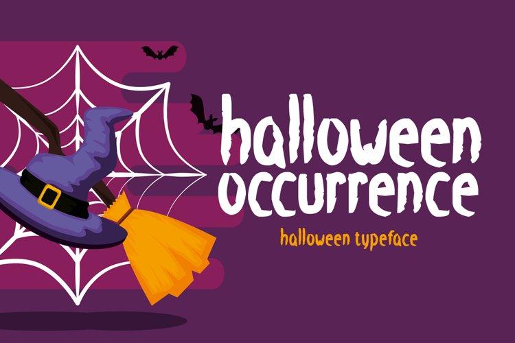 Halloween Occurrence example image 1