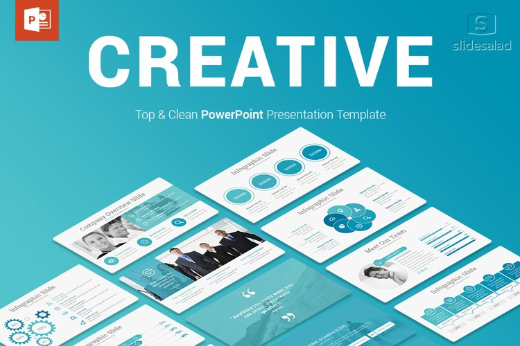 Creative Business PowerPoint Presentation Template example image 1
