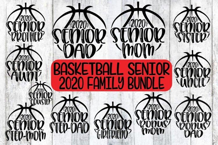 Basketball Mom/Dad/Family-Senior 2020-12 Designs-SVG PNG EPS