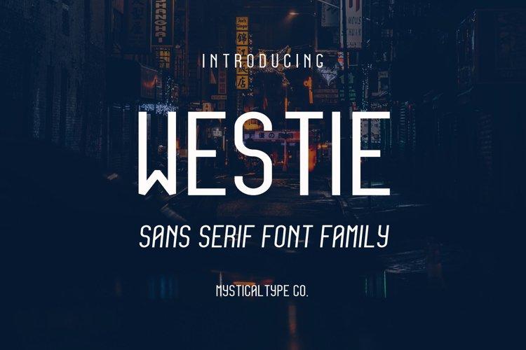 Westie Typeface example image 1