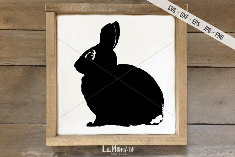 Bunny Cut File, Rabbit SVG, Easter Bunny Cutting File example image 1