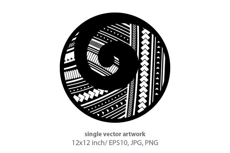 Koru, Maori symbol example image 1