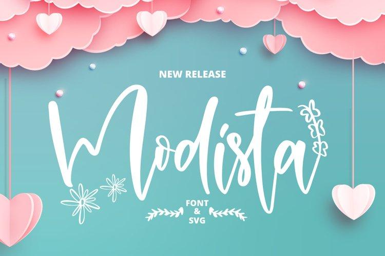 Modista & Free SVG example image 1