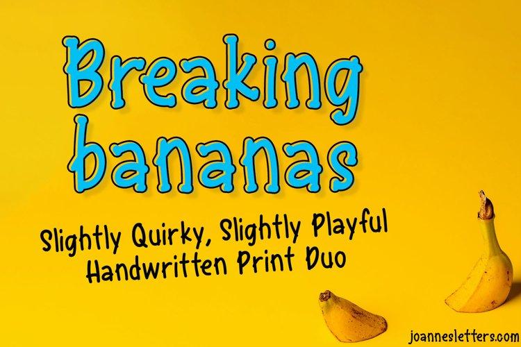 Breaking Bananas Print Duo example image 1