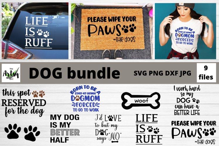 Dog Bundle, Dogs svg bundle, dog quotes, dog sayings example image 1