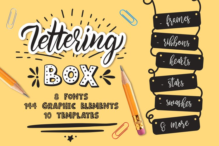 Lettering box example image 1