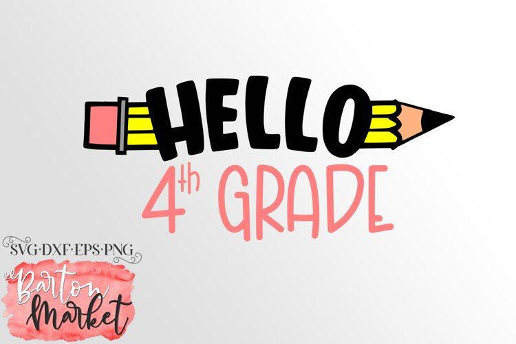 Hello 4th Grade for Crafters