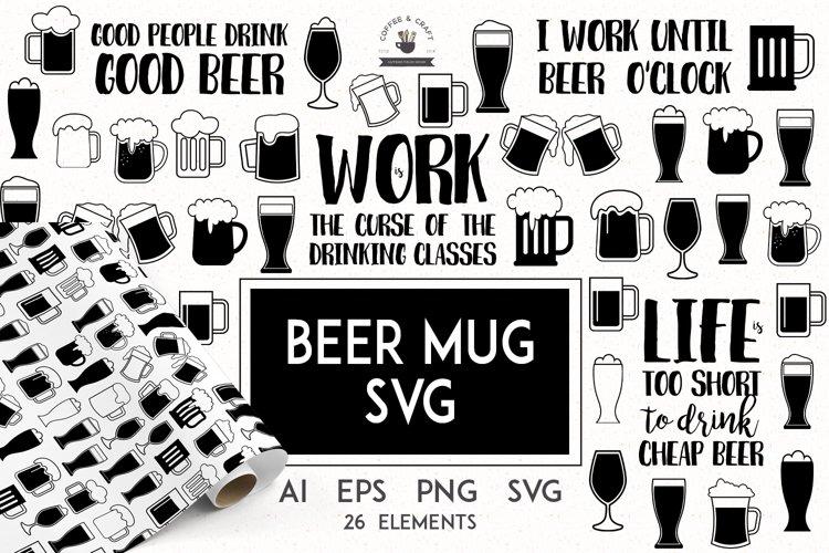 Beer Mug Svg