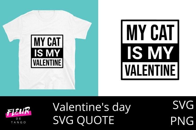 Download My Cat Is My Valentine 3 1000249 Cut Files Design Bundles