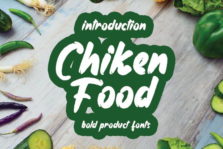 Chiken Food example image 1