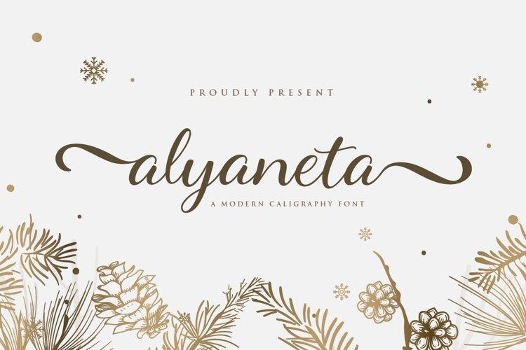 alyaneta script