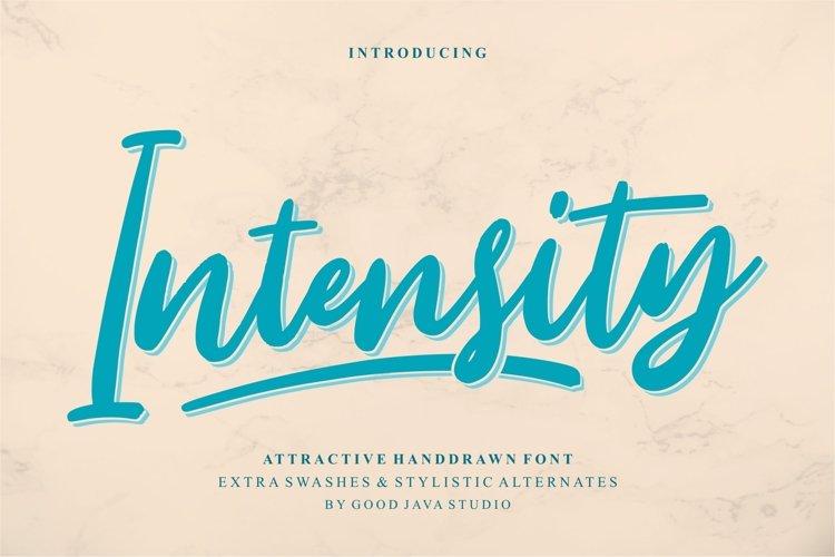 Intensity example image 1