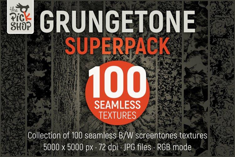GrungeTone SuperPack 100 Seamless Textures