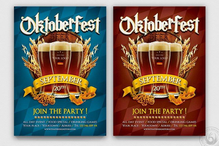 Oktoberfest Flyer Template V1 example image 1