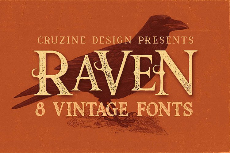 Raven Typeface example image 1