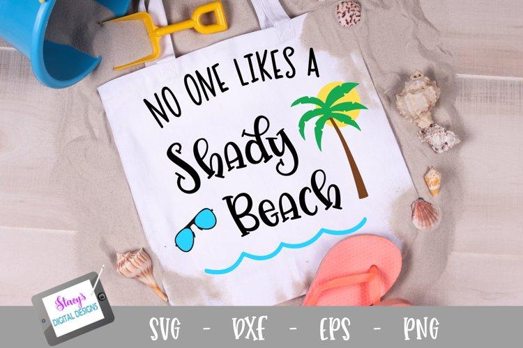 No one likes a shady beach SVG - Beach SVG File