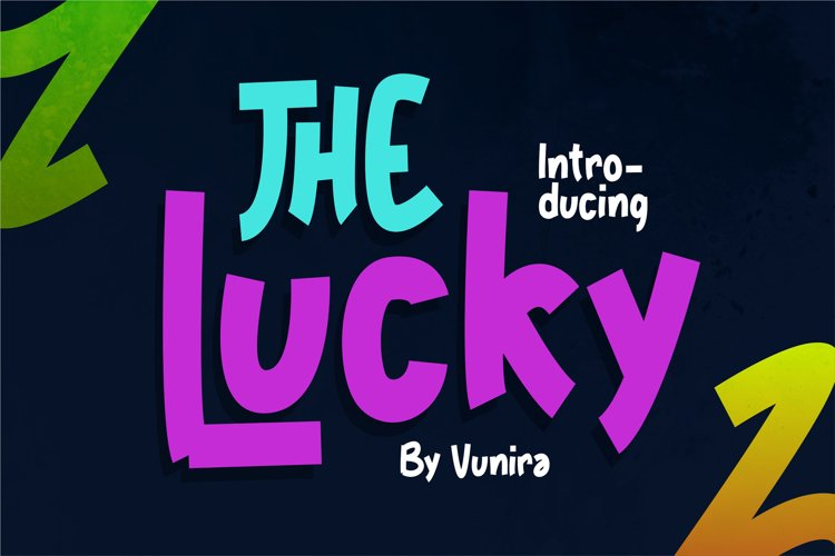 The Lucky | Fancy Font example image 1