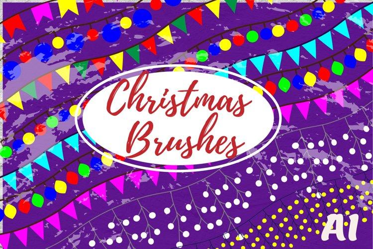 Christmas brushes#1 example image 1
