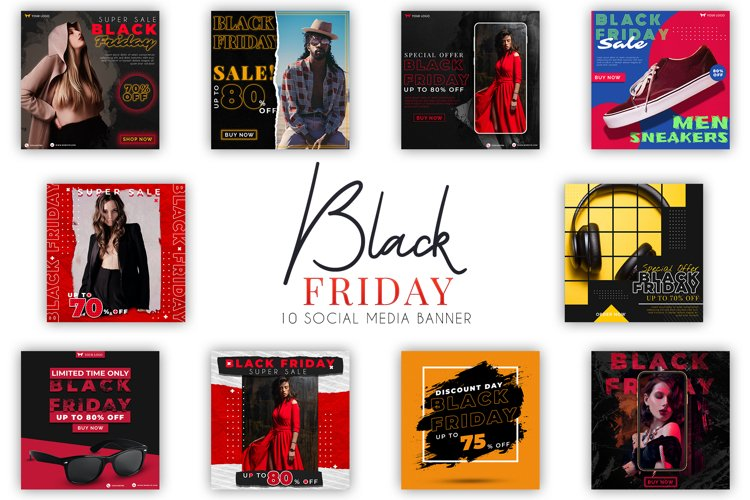Black Friday Instagram Posts example image 1
