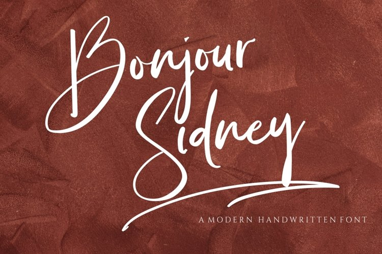Bonjour Sidney example image 1