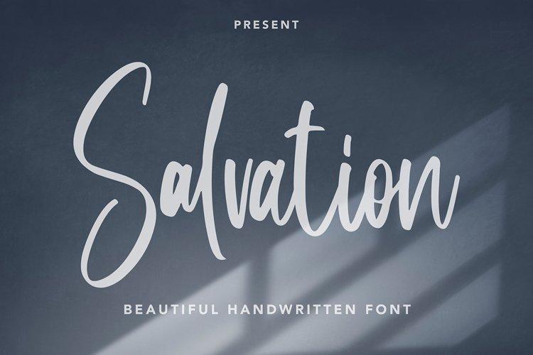 Salvation - Beautiful Handwritten Font example image 1