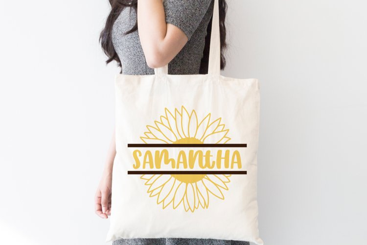 Sunflower Monogram Bundle, SVG Cut Files - Free Design of The Week Design2