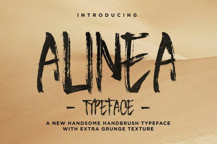 Alinea Typeface