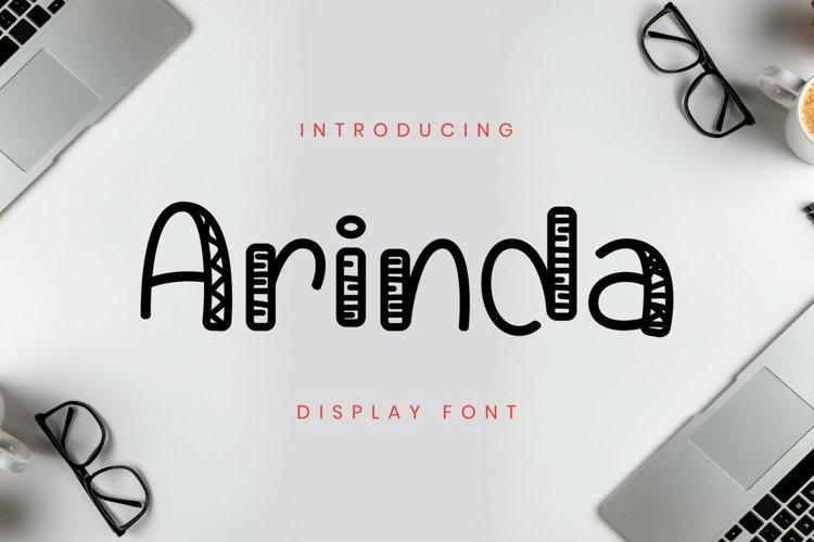 Arinda Font example image 1