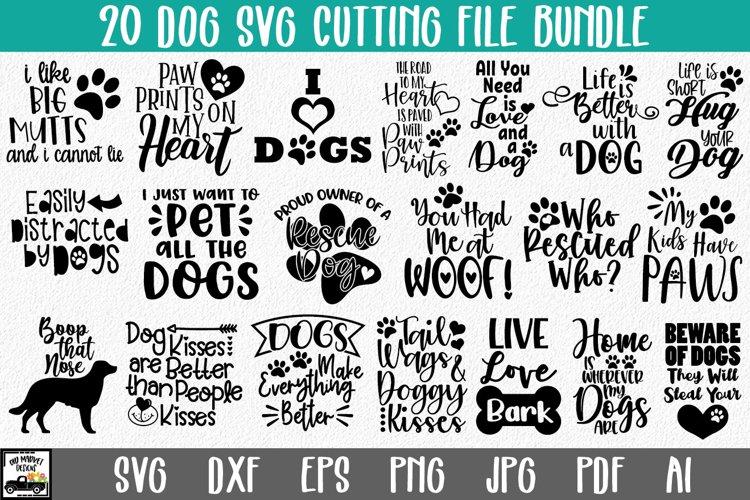 Dog SVG Bundle - Dog SVG Cut Files