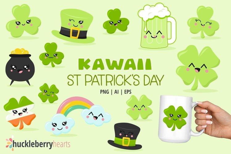 Kawaii St Patricks Day Clipart