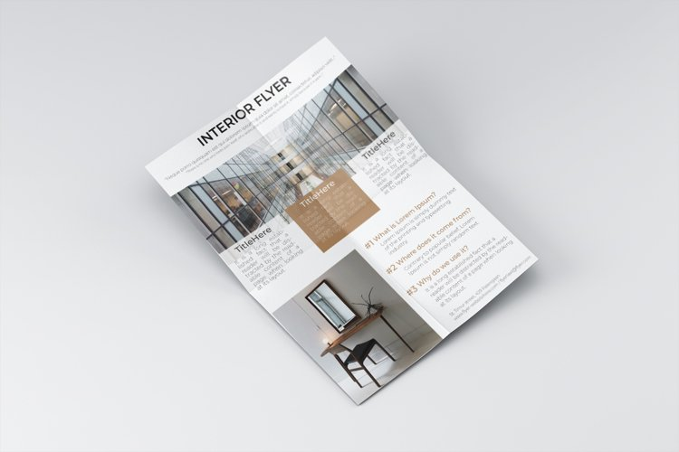 Building interior flyer dsign example image 1