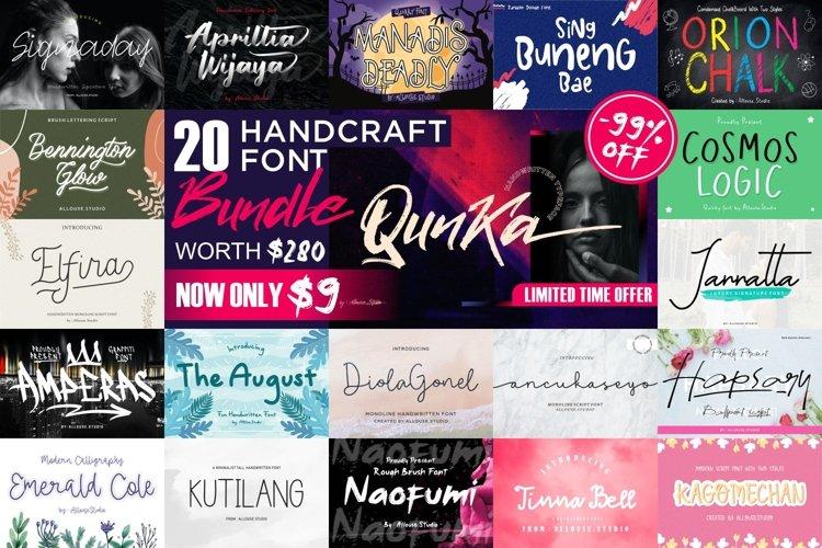 Handcraft Fonts Bundle